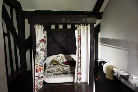 Four Poster Bed in Bedroom