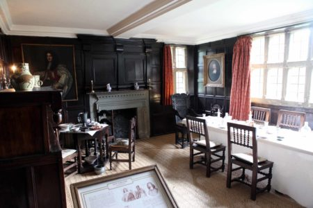 Elizabethan Dining Area