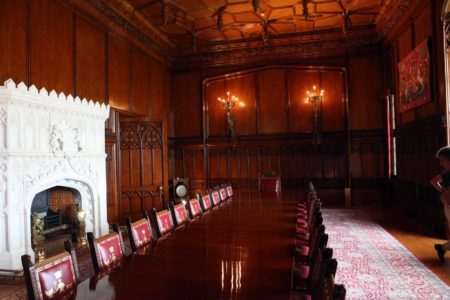 Allerton Castle Dining Room