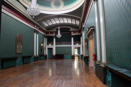 Cutler's Hall Empty Room