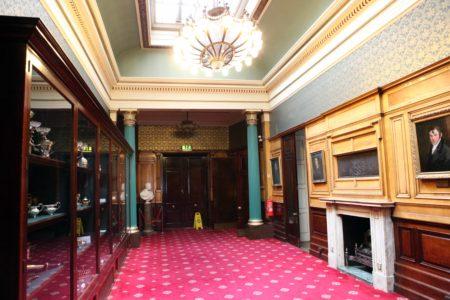 Cutler's Hall Hallway