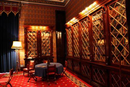 Allerton Castle Library