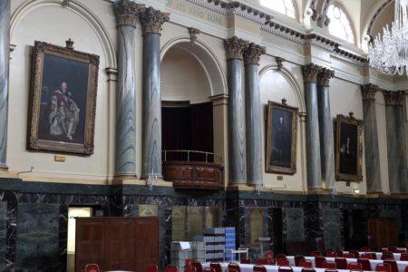 Cutler's Hall Royal Box