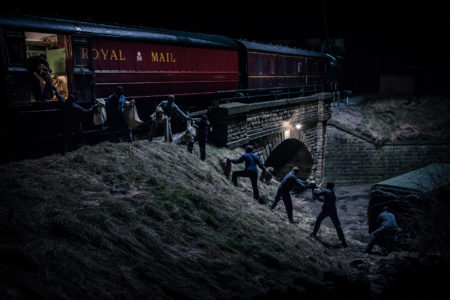 The Great Train Robbery filmed at Keighley and Worth Valley Railway