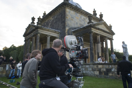 BRIDESHEAD REVISITED filming at Castle Howard