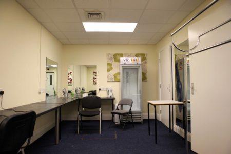 Barnsley Metrodome Dressing Room
