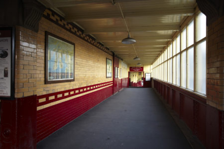 'Down The Ramp' Corridor