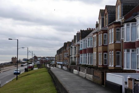 Withernsea Houses by the Sea