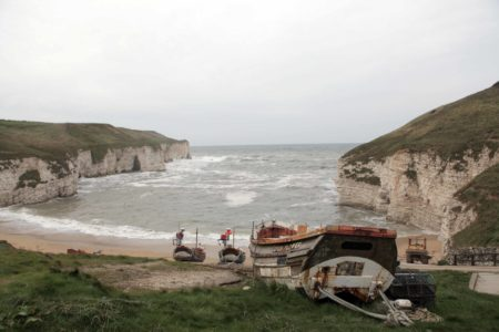 Flamborough & Bempton Sea View With tiny boat