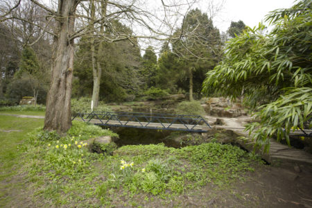 Newby Hall Gardens Mini Bridge