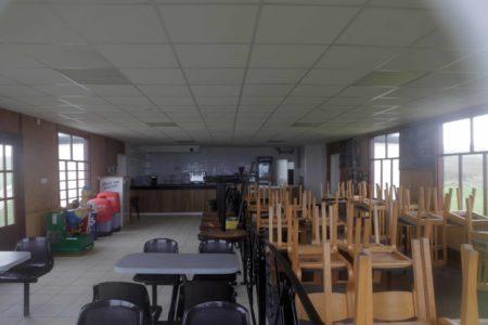 Inside Thornwick Bay Cafe