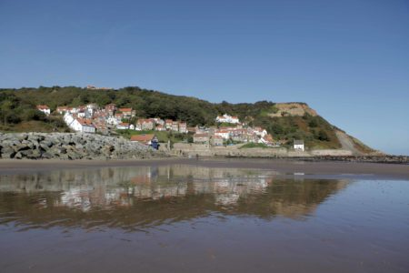 Runswick Bay Red Roofed Cottages