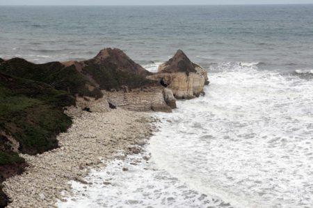 Thornwick Bay Cliffside