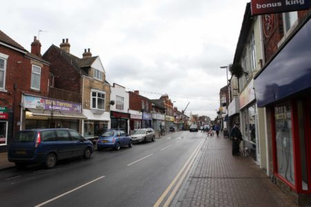 Withernsea Town High Street
