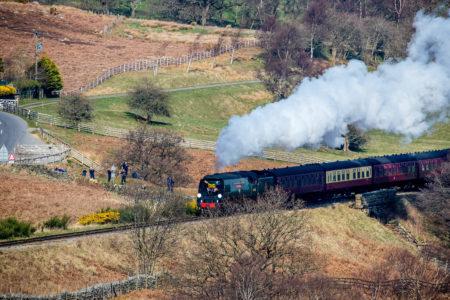 Steam Train, City of Wells, NYMR, Nortrh Yorkshire, UK